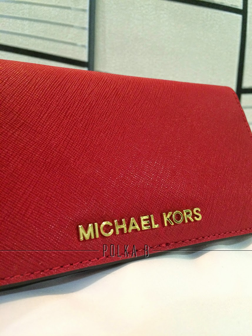 fbadd125695b Buy michael kors jet set wallet red   OFF67% Discounted