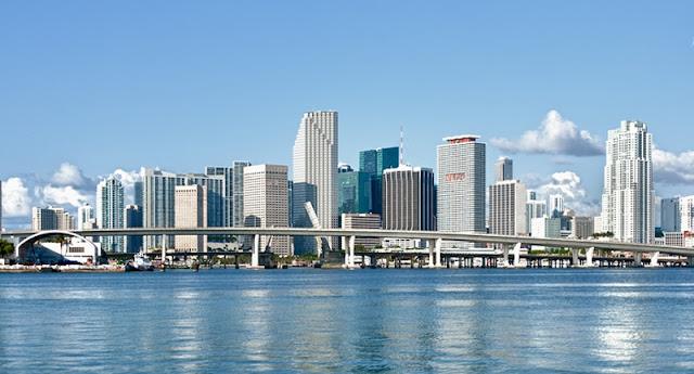 Bairro Downtown em Miami