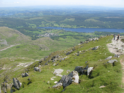 The view towards Coniston