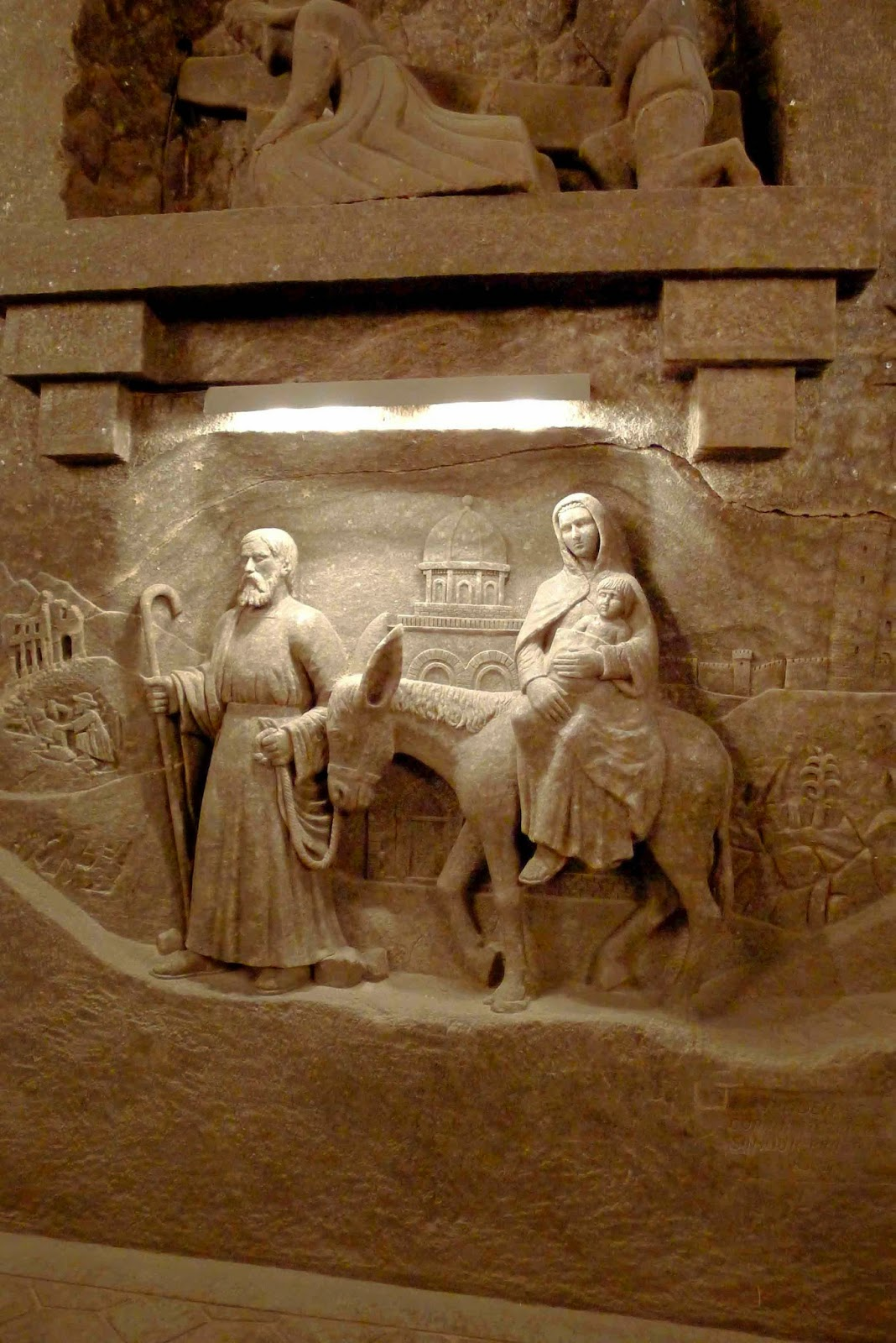 Wieliczka Salt Mine Flight to Egypt