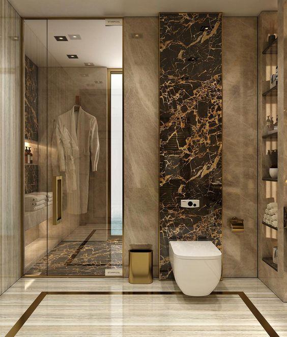 25 contemporary concept bathroom decorating ideas - 1 2 bath ideas ...