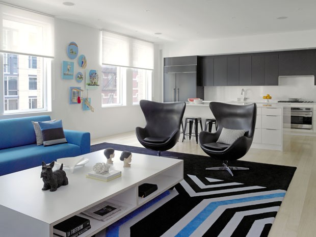 Inspírate con este apartamento en Nueva York
