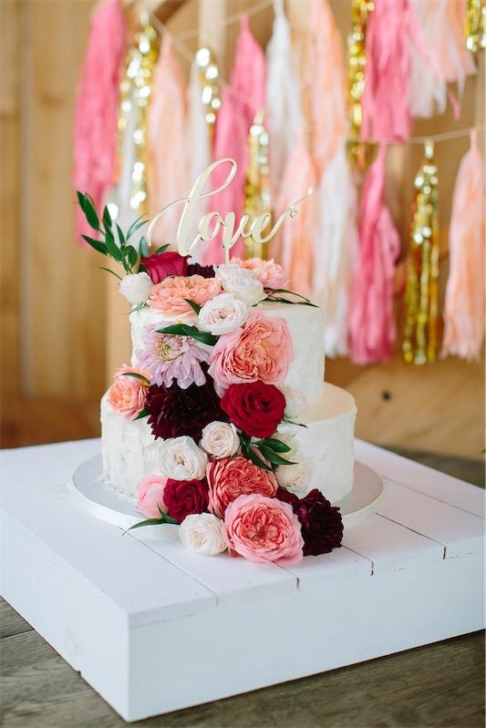 Una boda de lo más romántica en LOVE, LOVE by Chic & Decó