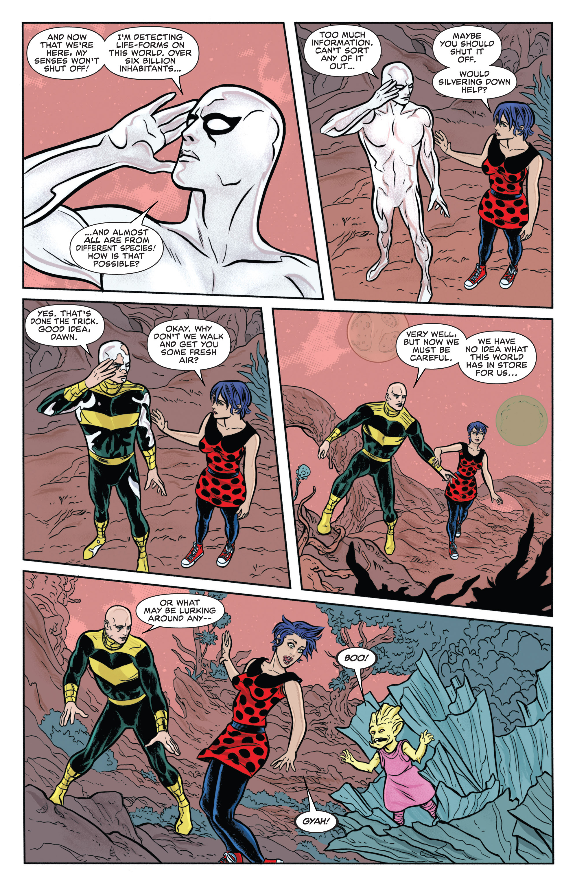 Read online Silver Surfer (2014) comic -  Issue #8 - 11