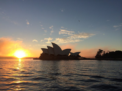 Sun Rise In Sydney Australia