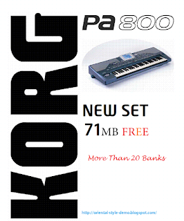 largest-keyboards-library: NEW SET FOR KORG PA800EX :PRO