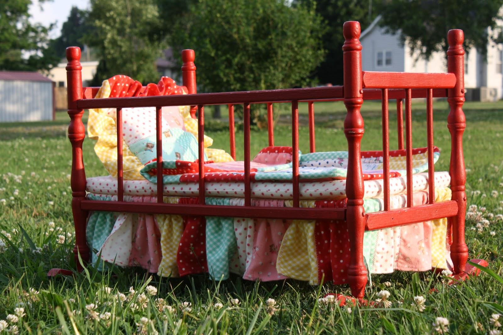 Vintage Doll Cradle Renovation Sunday May 6 2017