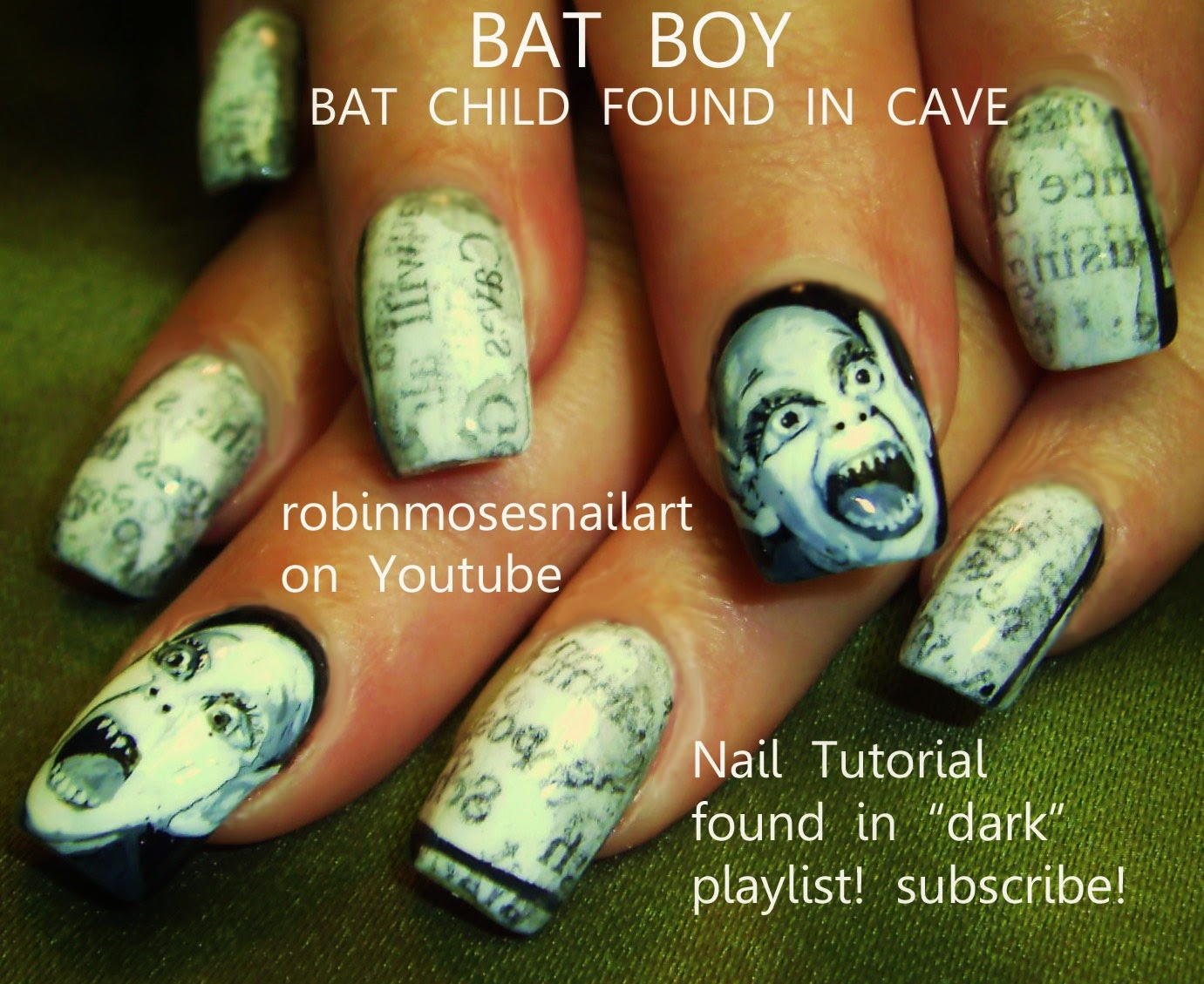 Nail art by robin moses halloween nails halloween nail art halloween nails halloween nail art easy halloween nails diy halloween nails diy halloween ideas halloween nail gallery solutioingenieria Gallery