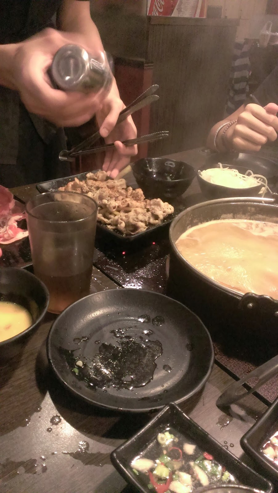 2014 11 09%2B17.26.18 - [食記] 潮肉壽喜燒 - 平價多樣的壽喜燒吃到飽
