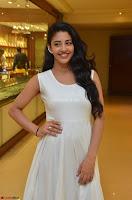 Daksha Nagarkar Cute Beauty in Sleeveless White Dress at Khwaaish Exhibition Launch 2017 ~  Exclusive 019.JPG
