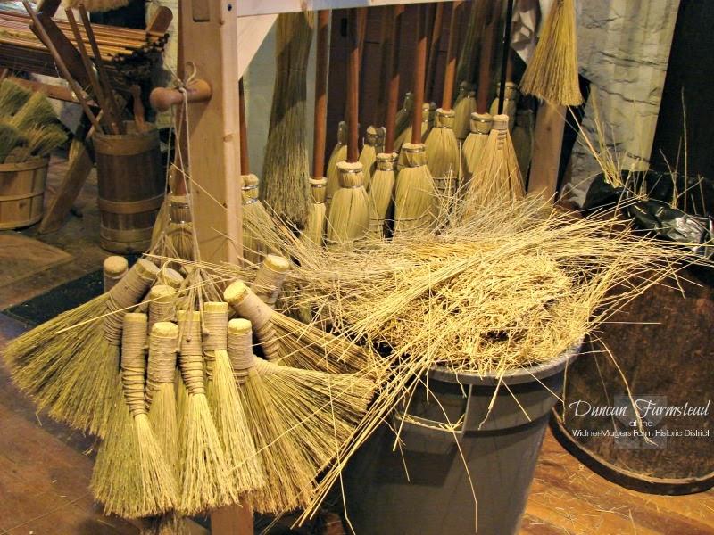 Duncan Farmstead The Folk Art Of Brooms And Broom Making