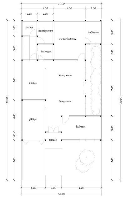 House with floor area of 135 square meters-03