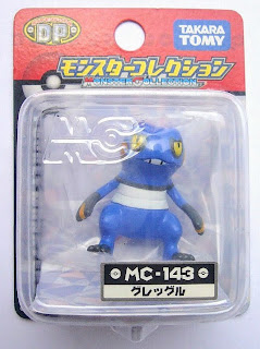Croagunk Pokemon figure Tomy Monster Collection MC series