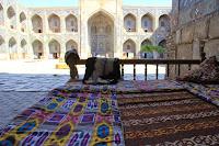Uzbekistan, Samarkand, topchan, Registan, médersa Cher-Dor, © L. Gigout, 2012
