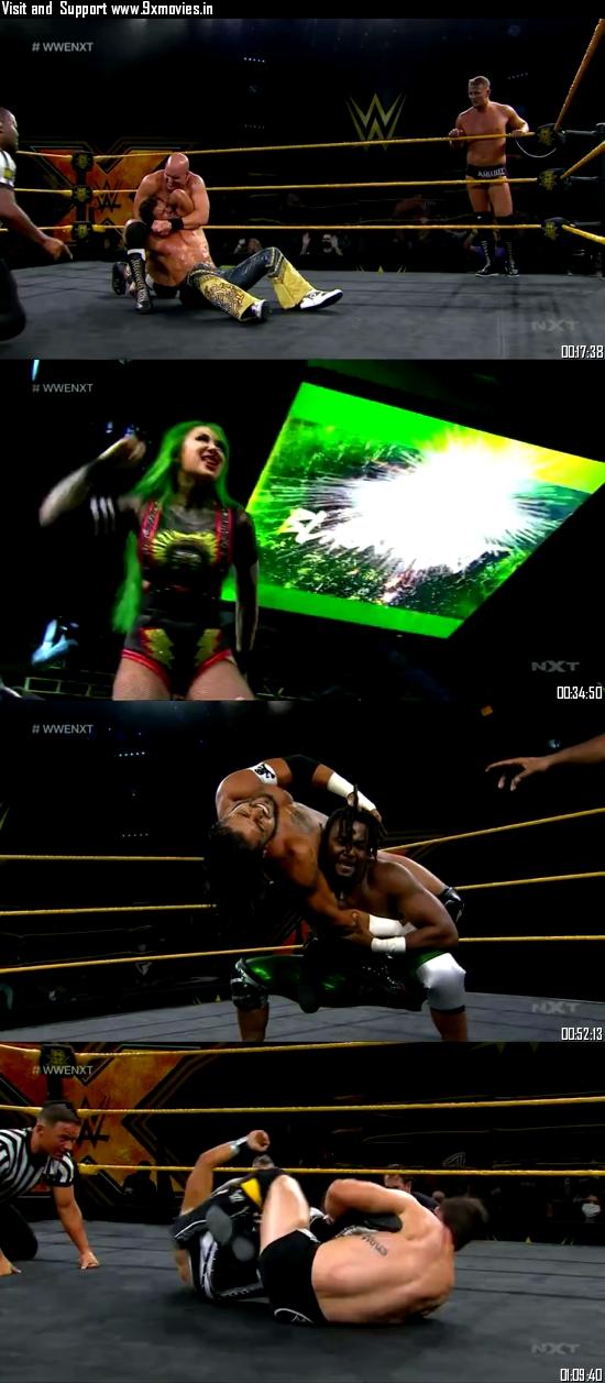 WWE NXT 26 August 2020 WEBRip 480p 400MB