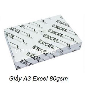 giấy excel A3 80gsm