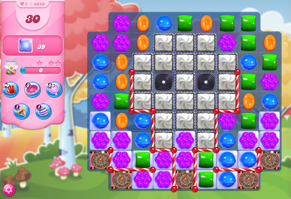 Candy Crush Saga level 4046
