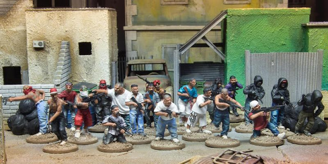 Spectre Miniatures: New Central and South American Crime Cartel Miniature Range