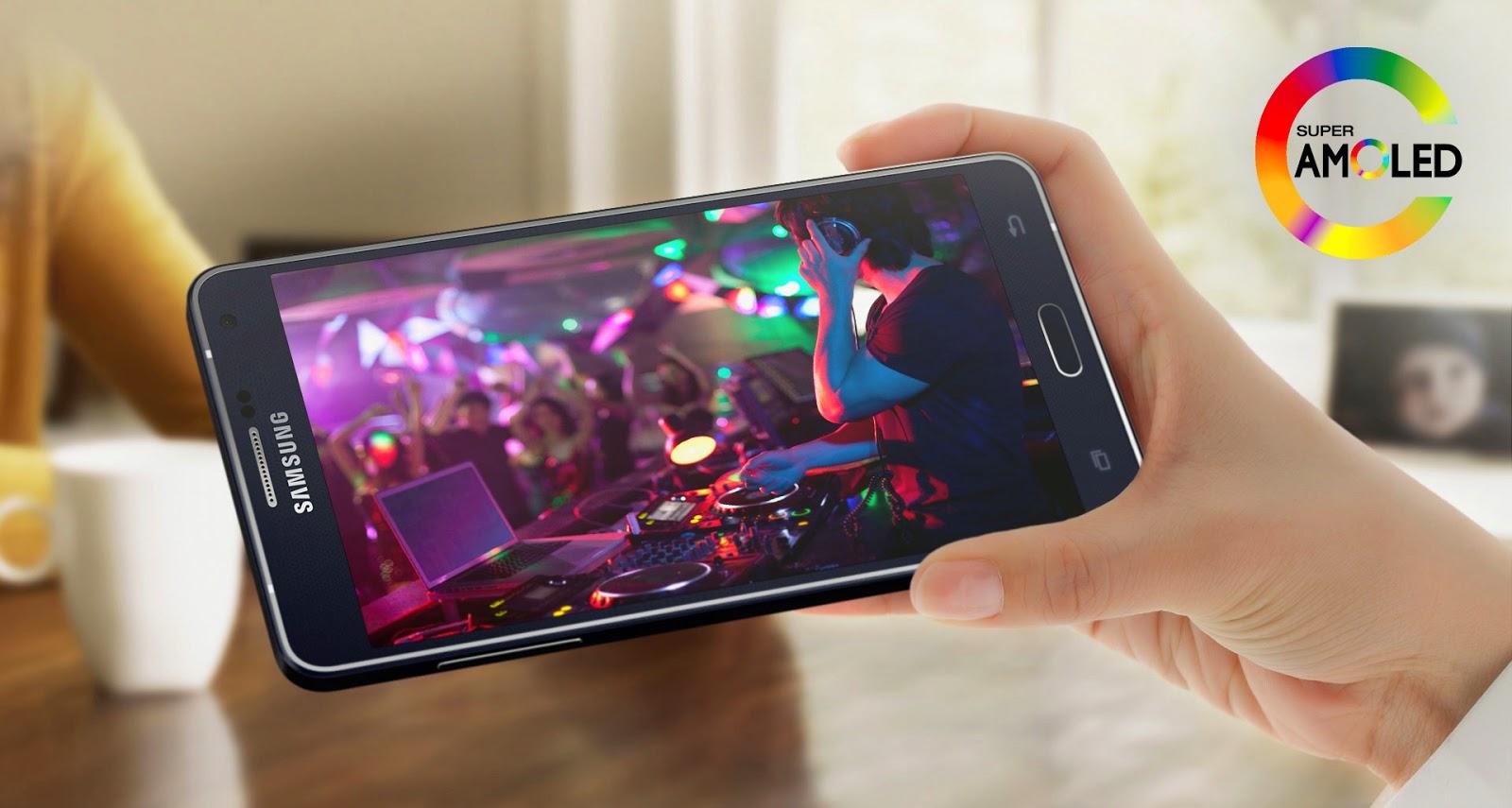 Samsung Galaxy A7 Metallic Phone