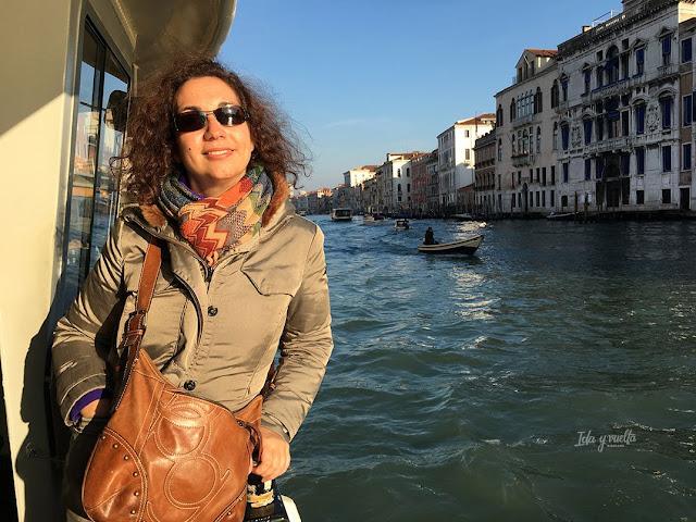 Qué hacer Venecia paseo en vaporetto