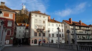 On the bottom is Prešeren Square