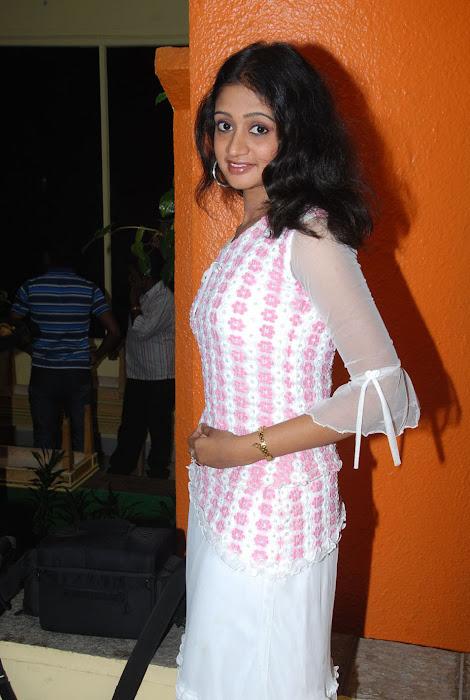 sandeepthi in white dress unseen pics