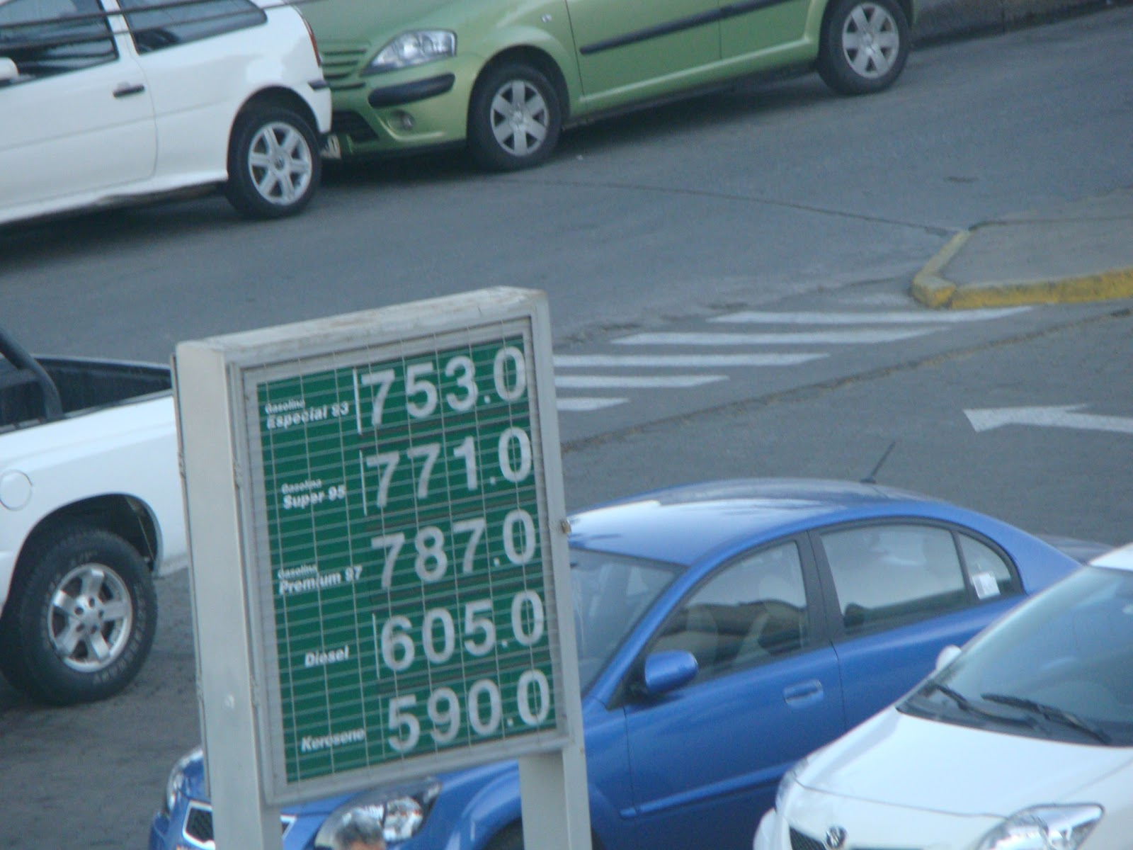 Petrol and Diesel prices in Chile [Updated] - eNidhi India Travel Blog