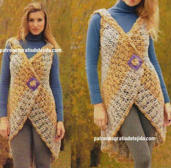 como-se-teje-chaleco-circular-a-crochet