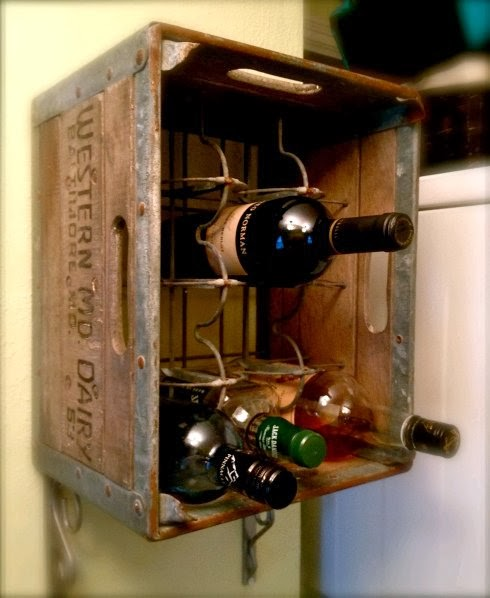 Upcycled Unique Wine Racks