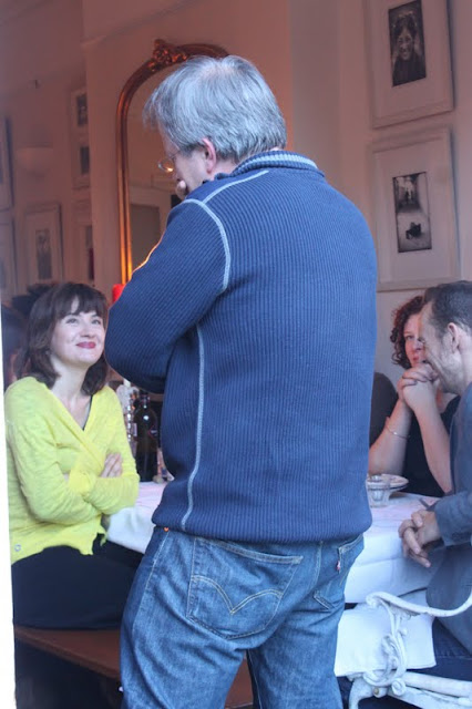 Robin Ince at the underground comedy supper club, msmarmitelover's