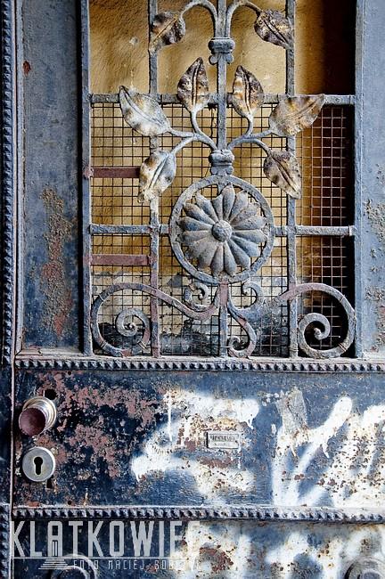 Włocławek: metalowa brama z firmy Luchtenstein Włocławek