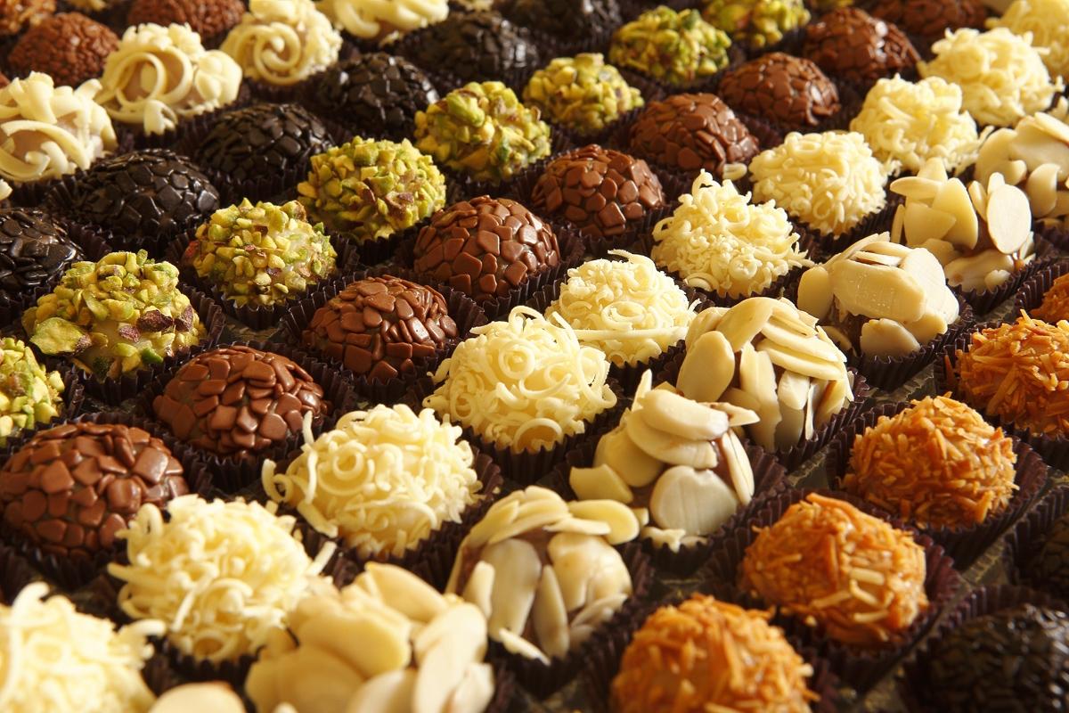 Na Cozinha De Nina Do Trivial Ao Gourmet 5 Brigadeiros Gourmet