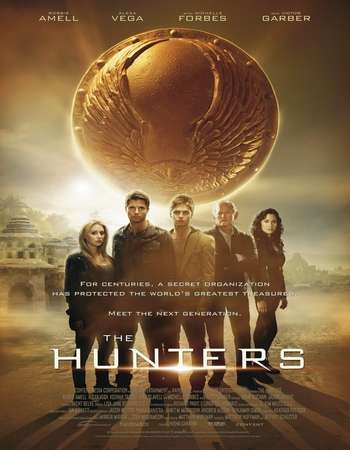 Poster Of The Hunters 2013 Dual Audio 720p  [Hindi - English] Free Download Watch Online world4ufree.org
