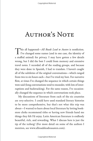 how to write an author's note for an essay