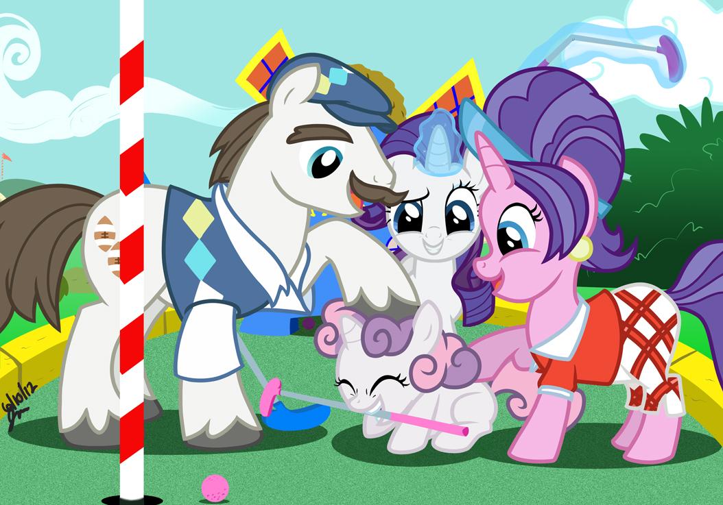 Dad And And Mom Celestia Princess Luna
