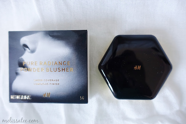 hm beauty, hm beauty department, hm beauty pure radiance powder blusher, hm beauty pure radiance powder blusher review