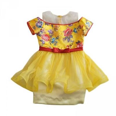 baju pesta anak perempuan umur 5 tahun