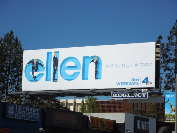 Ellen season 12 Have a little fun today billboard