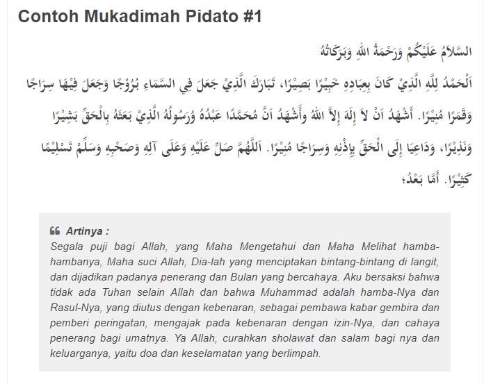 Materi Skill Sosial Dan Agama Badan Dakwah Islam Bdi Pidato 3 Bahasa A Fakih Media