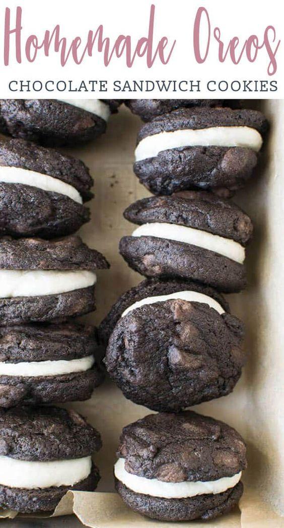 CHOCOLATE SANDWICH COOKIES #Chocolate #Chococookies #Buttercream #Sandwich #Bestcookies #bestchocosandwich #Dessert