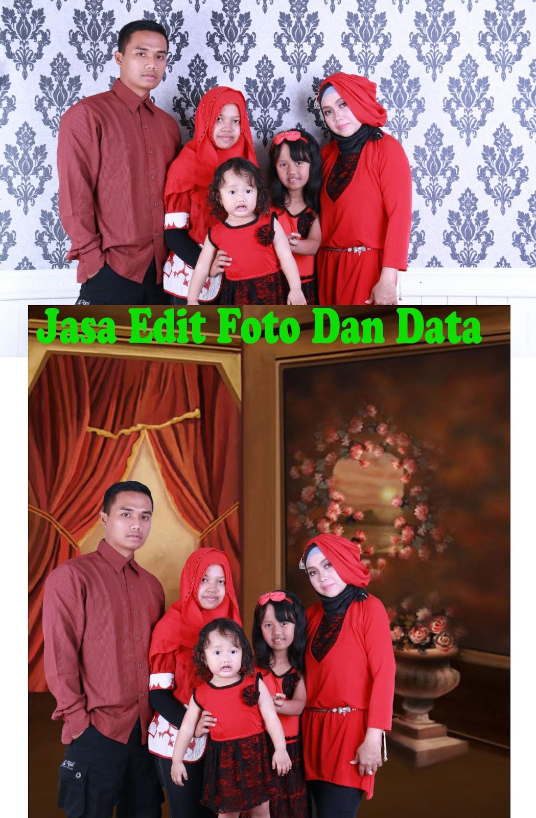TOKO OPIK Jasa Edit Foto Dan Data: Edit Background Foto ...