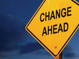 Signpost of change