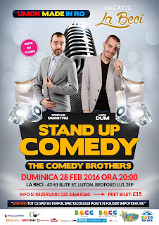 The Comedy Brothers: Stand-Up Comedy made in Ro