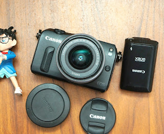 Mirrorless Canon EOS M Kit 15-45MM