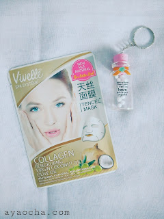 Vivelle Spa System Tencel Mask Bengkuang (Sheet Mask)
