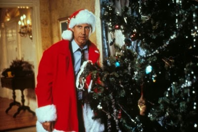 "Chevy Chase as Clark Griswold in ""National Lampoon's Christmas Vacation"""