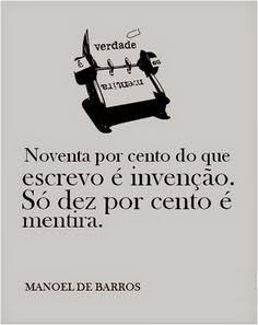 Poema de Manoel de Barros