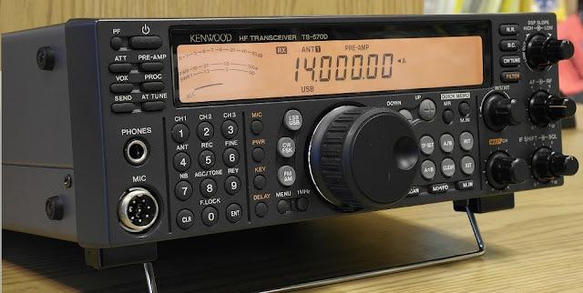 Kenwood TS-570 Transceiver