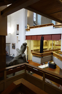 Architecture Marino Marini Museum Church of San Pancrazio Florence Italy