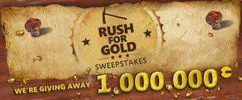 Join Xbox Live the Rush for Gold Sweepstakes